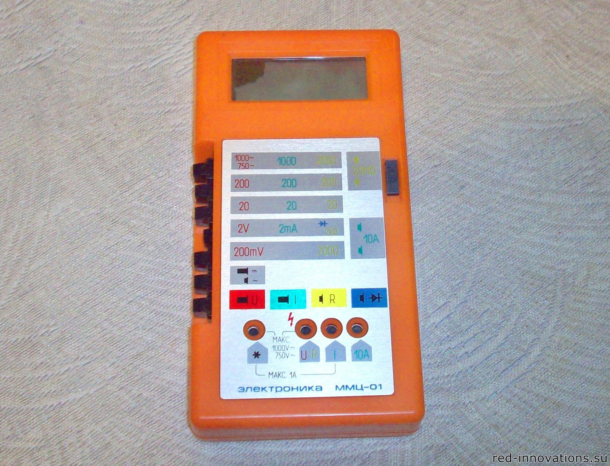 скачать бесплатно инструкцию к мультиметру электроника ммц-01